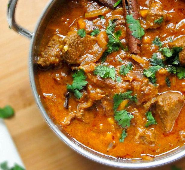 curry d'agneau à l'indienne