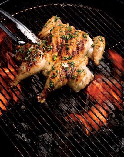 poulet grillé à l'américaine