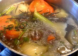 court-bouillon légumes