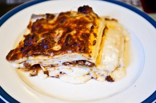 lasagnes bechamel