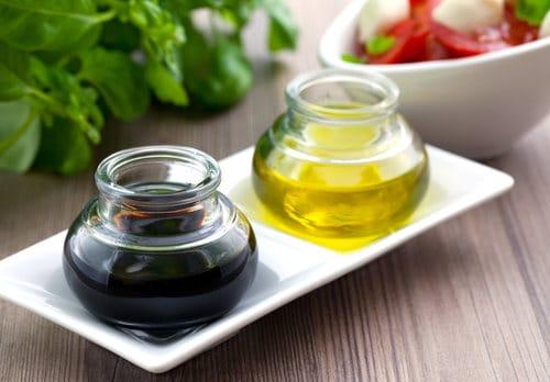 vinaigrette huile et vinaigre