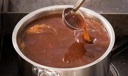 sauce brune demi-glace