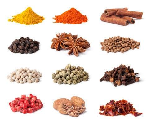 réussir une sauce : les épices