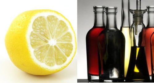 relever une sauce : citron et vinaigre